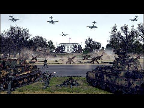 AMERICA LAST STAND DEFENSE - GERMAN INVASION PART 3