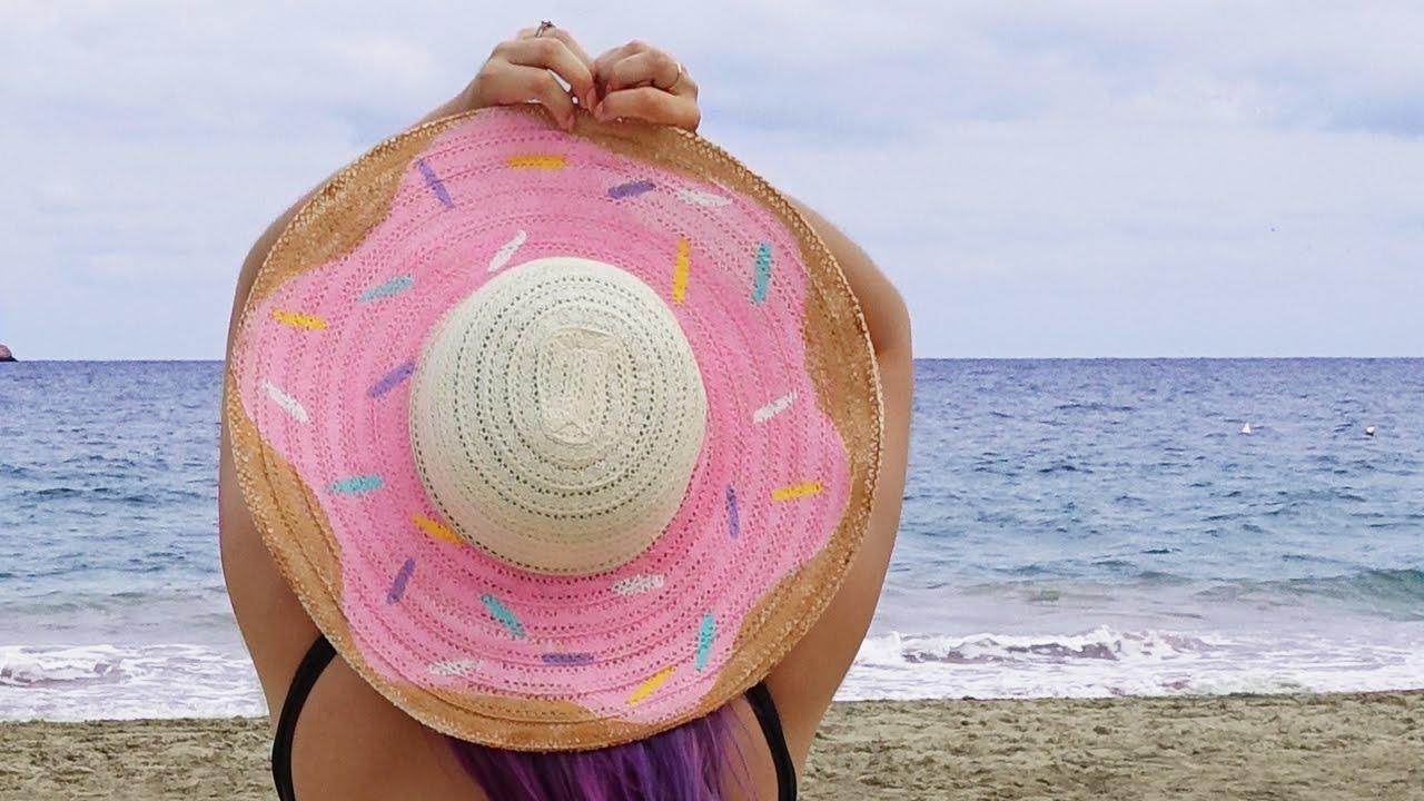 Donut Hat ♥ DIY - YouTube b712de7a77c