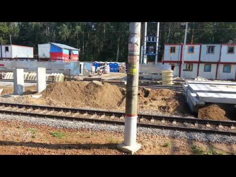 Строительство новой платформы на станции Отдых (Жуковский).
