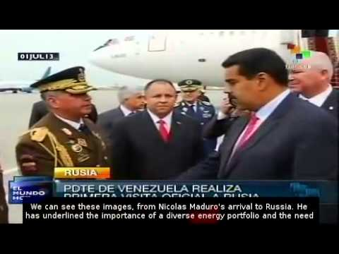 Maduro  to participate in Gas Exporting Countries Forum