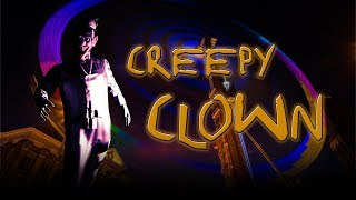 Halloween Projections Creepy Clown