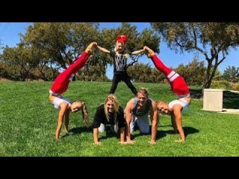 extreme yoga challenge ft sav cole  everleigh  youtube