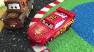 A Disney Pixar Cars Story: The Crystal Piston Cup - Starring Lightning McQueen and Darth Vader