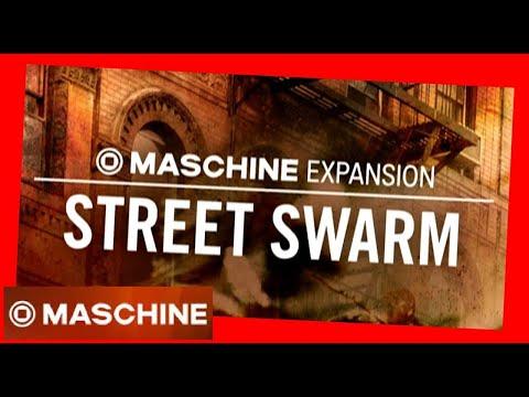 STREET SWARM Hip Hop NY Maschine Expansion Tous les kits & patterns - NI