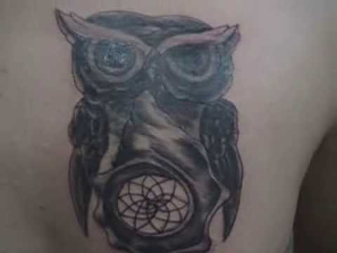 Tattoo Buho Caracol Atrapasueños Youtube