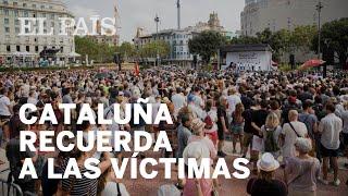 17 A | HOMENAJE a las víctimas de los atentados de Barcelona y Cambrils