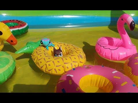 Petshop à la Piscine: Parc Aquatique avec Jeux Gonglables !