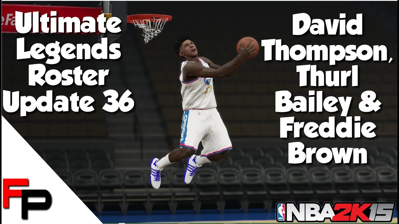 NBA 2K15 Thurl Bailey David Thompson & Fred Brown Ultimate