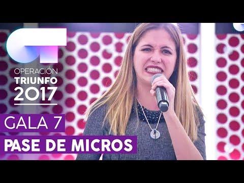 NI UN PASO ATRÁS - Mireya | Segundo pase de micros para la Gala 7 | OT 2017