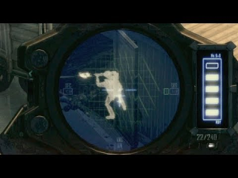 �call of duty black ops 2 sniper gameplay w xray scope