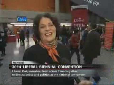 2014 Liberal Convention - Margaret Trudeau Interview