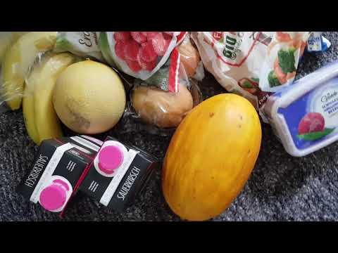 Sauberer LIDL Einkauf Vegan HCLF - High Carb fettfreies Eis, Mangos, Melonen, uvm...