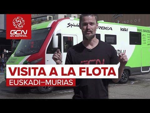 Visita A La Flota Del Euskadi-Murias | Vuelta a España 2018