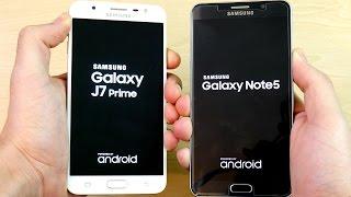 galaxy j7 prime vs galaxy note 5