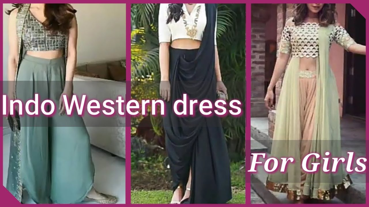 party teenage girl party indo western dress for girls