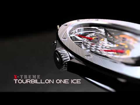 Gangi Pocket Watch - Tourbillon One Ice