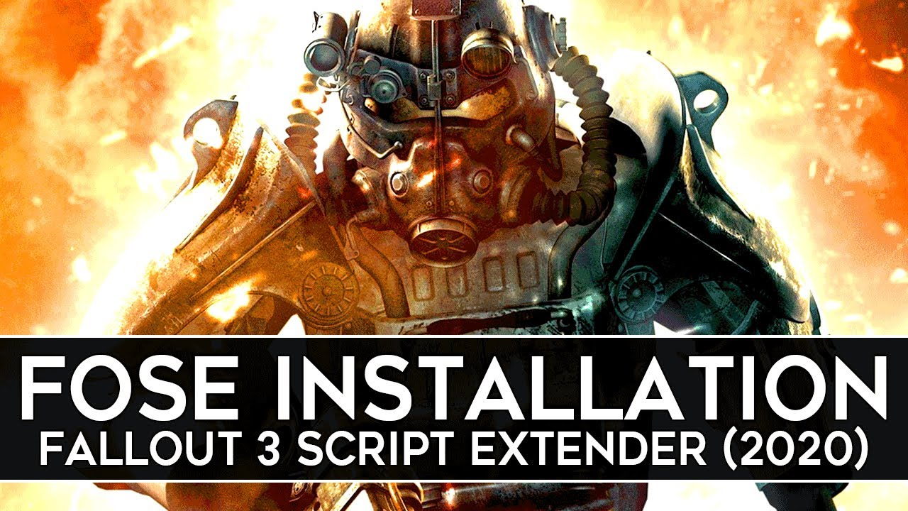 Download How to Install FOSE for Fallout 3 (2020) - Script Extender v1.3b2