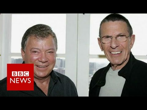 Star Trek's William Shatner opens up about Leonard Nimoy - BBC News