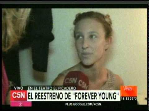 C5N -  VIVA LA TARDE: EL REESTRENO DE FOREVER YOUNG