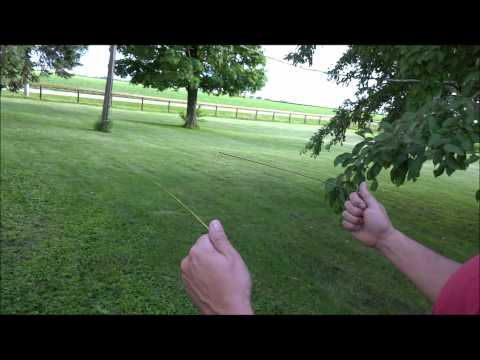 How to find under ground utilities, pipes, lines and cables using dowsing rods