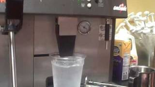 Iced americano Method of Production