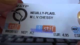 ASMR français chuchoté - Comment prendre le bus/métro/RER à Paris.