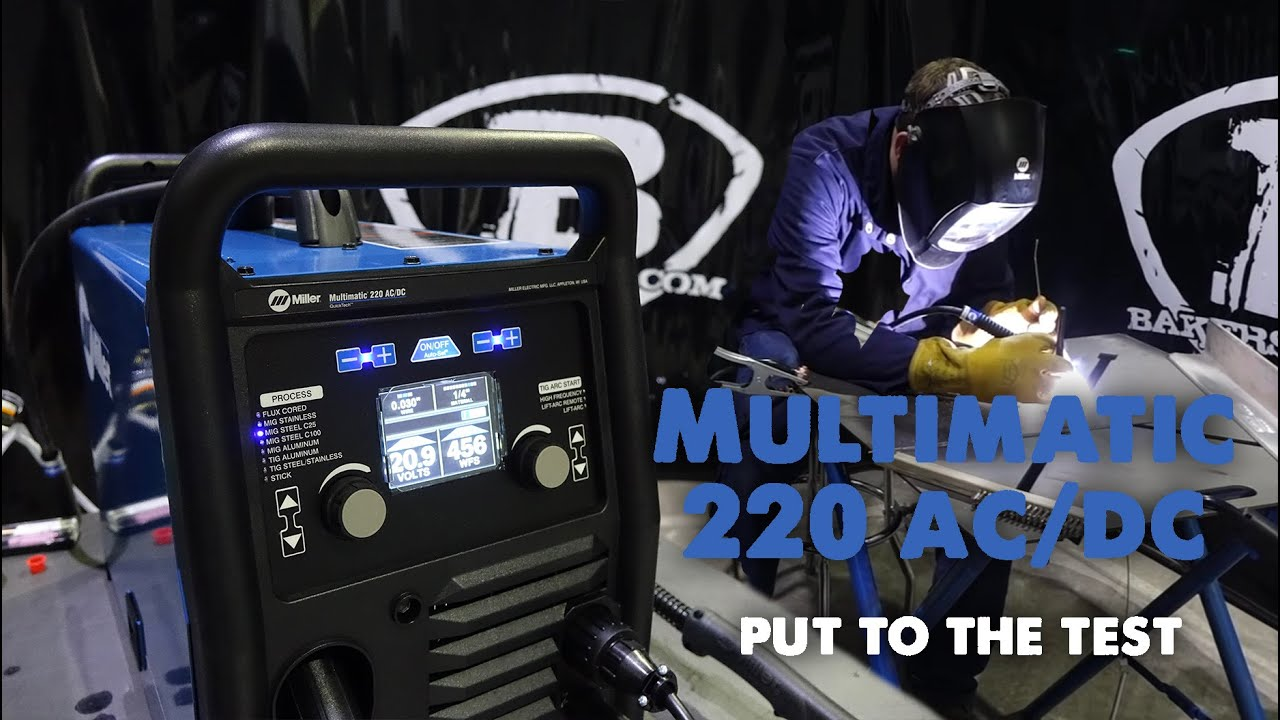 Miller Multimatic 220 AC/DC Multiprocess Welder - 907757