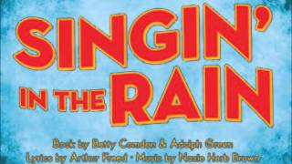 """""""Singing in the rain""""  Lise Ringheim med Otto Franckers Danseorkester og kor 1953"""