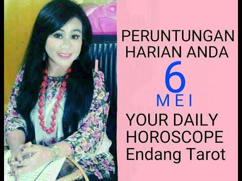 PERUNTUNGAN ZODIAC ANDA HARI INI   6 MEI 2018 - DAILY HOROSCOPE   Endang Tarot (Indonesia)