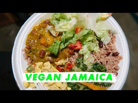 🇯🇲 Vegan Rasta food in Kingston Jamaica | Vlog