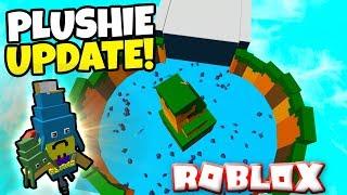 MISE À JOUR DE PLUSHIE DE NOUVEAU! Construisez un bateau pour le trésor ROBLOX!