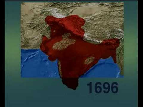 The Mughal Empire In Northern India 1500 1900 Youtube