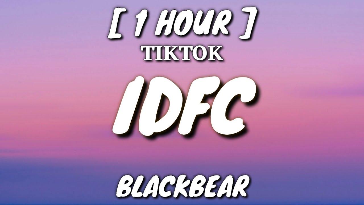 idfc slowed - blackbear (Lyrics) [1 Hour Loop] \