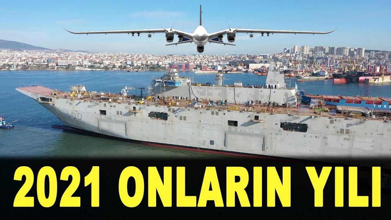 Türkiye'nin 2021'deki yeni silahları - Akıncı TİHA - TCG Anadolu - Atmaca - Karaok - AKYA - ASELSAN