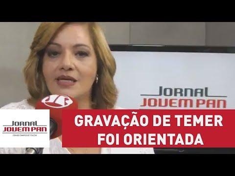 Gravação de Temer foi orientada, diz relator da CPMI da JBS Carlos Marun
