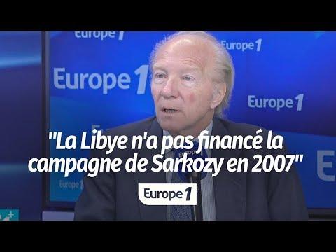 """HORTEFEUX : """"LA LIBYE N'A PAS FINANCÉ LA CAMPAGNE DE SARKOZY EN 2007"""""""