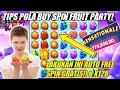 🔴TIPS POLA BUY SPIN  FRUIT PARTY  AUTO X128 AUTO FREE SPIN GRATIS!! AUTO WD 😎😁 POLA INI PASTI JOSS