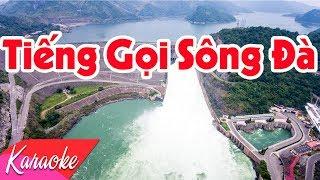 KARAOKE | Tiếng Gọi Sông Đà - St. Trần Chung | Nhạc Trữ Tình Không Lời Karaoke