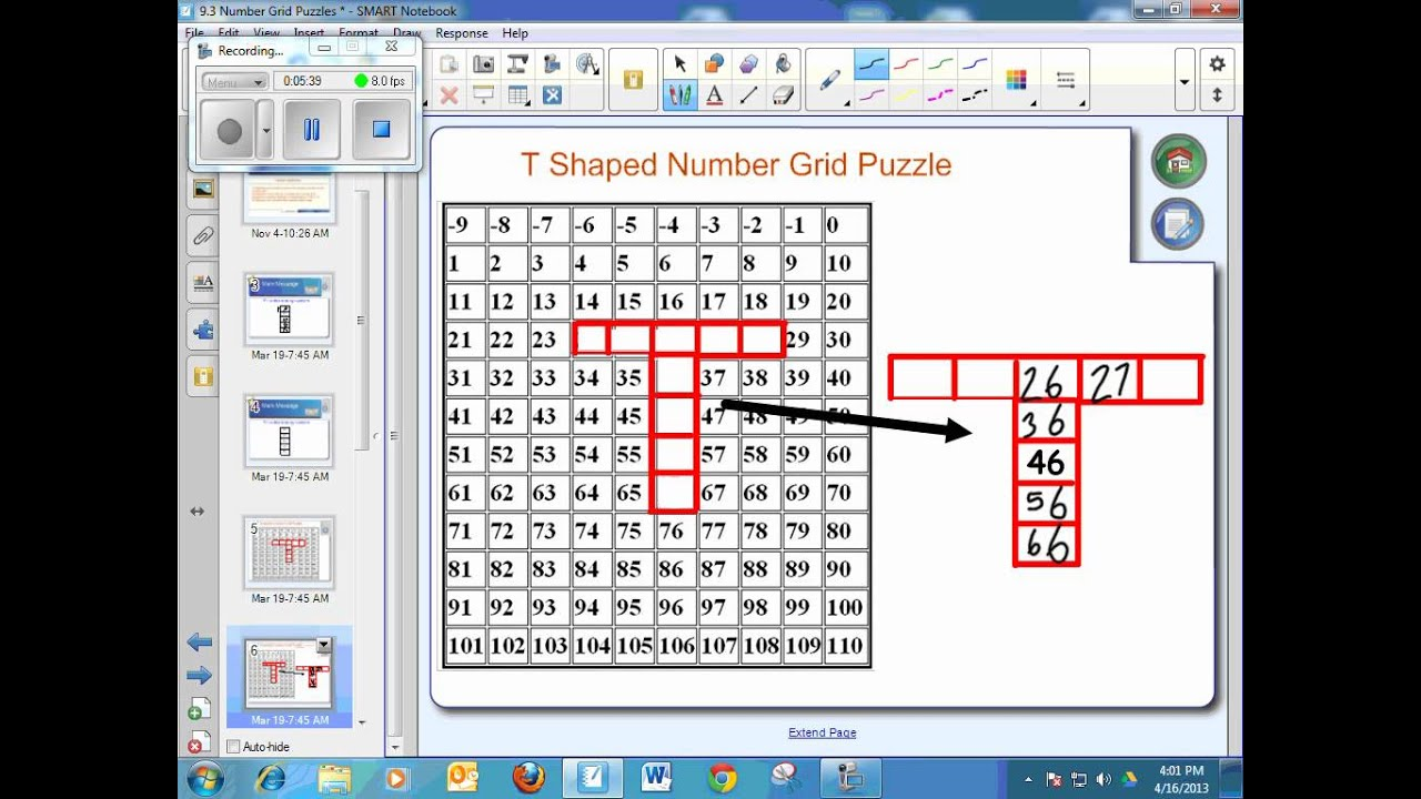 worksheet Number Grid Puzzles 9 3 number grid puzzles youtube puzzles