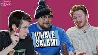Barstool Sports Bites into Whale Salami