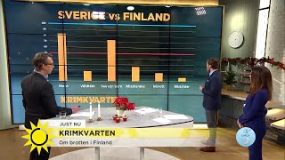 Finska brott: Narkotikapolisen som drev knarkhandel - Nyhetsmorgon (TV4)