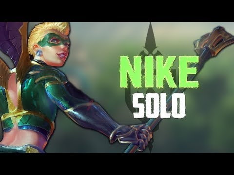 Nike Ranked Solo: FRIENDLY GAME WITH DMBRANDON!?!?! - Incon - Smite