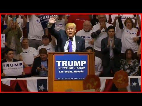 Donald Trump Holds Rally in Las Vegas, Nevada