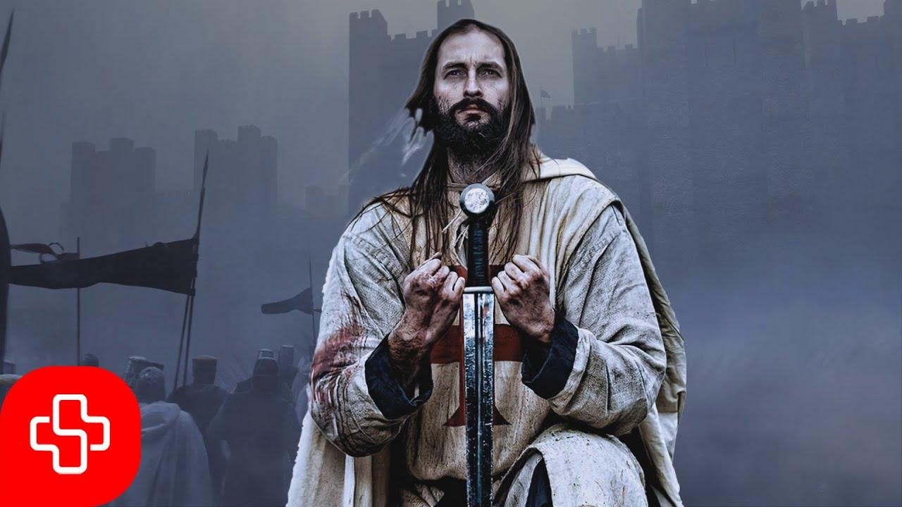 Templar chant: Non nobis Domine (Lyric Video)