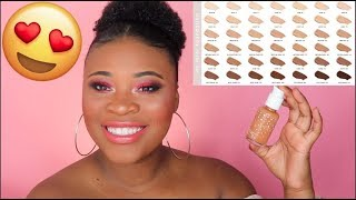 Colourpop No Filter Foundation Review | Wear Test On Dry Skin!