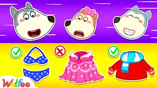 Download lagu Wolfoo, What Are We Wearing Today? Learn Dress and Weather - Wolfoo Kids Stories | Wolfoo Channel
