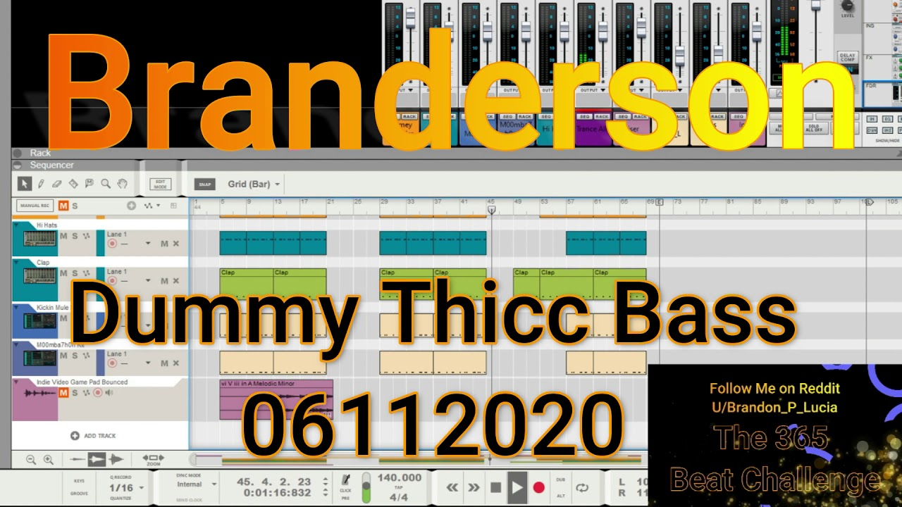 Dummy Thicc Bass 06112020 - YouTube