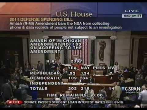amash-#defundthensa-amendment-fails-205-217