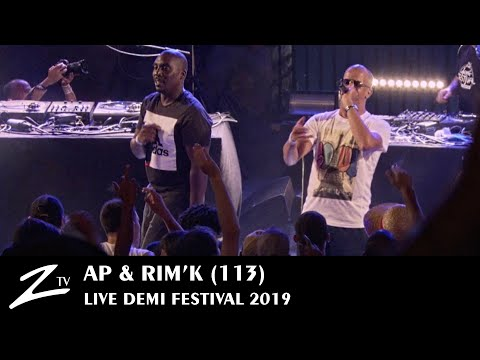 Youtube: AP & RIM'K (113) – Tonton du Bled & Air Max – Demi Festival 2019 – LIVE HD