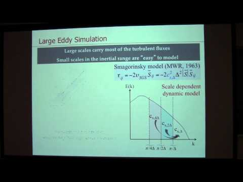 """SoMAS / ITPA - """"Turbulence and Vertical Fluxes in the Stable Atmospheric Boundary Layer"""
